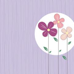 Cute spring flowers