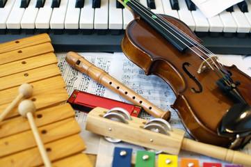 Children's instrumens