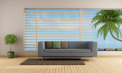 Living room of an holiday villa