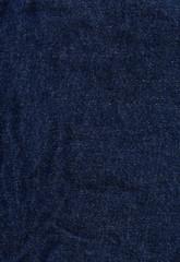 Denim Fabric Texture - Dark Blue