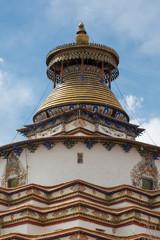 Roof of the Pelkhor Chode Monastery in Tibet