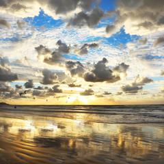 Mediterranean sunset - fototapety na wymiar