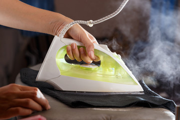 Iron with steam, Housework.