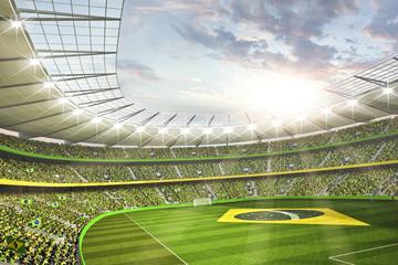 Wall Mural - Stadion Brasil 1