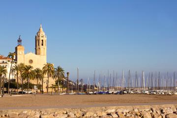 Church of Sant Bertomeu and Santa Tecla in Sitges