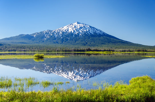 Mount Bachelor Reflection