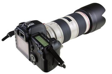 appareil photo, boîtier et objectif