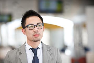Asia business man portrait