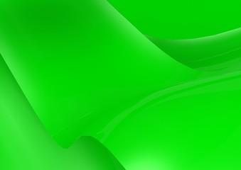 Green wave wallpaper