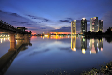 Putrajaya At Night