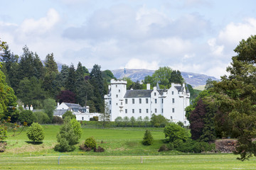Wall Mural - Blair Castle, Perthshire, Scotland
