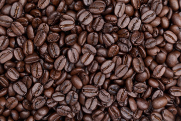 close up shot of coffee background