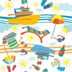 summer vacation pattern
