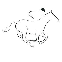 Rennpferd