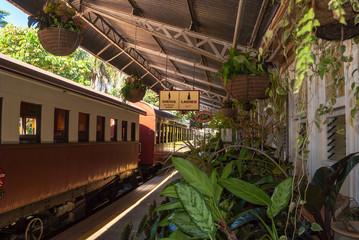 Kuranda Scenic Rail station, Queensland, Australia