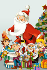 The christmas - Santa Claus - illustration
