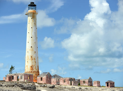 The Lighthouse at Great Isaac in the Bahamas