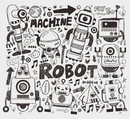 doodle robot element