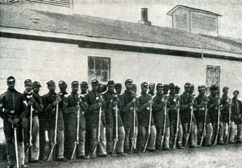 Black soldiers in Union army (American Civil War)