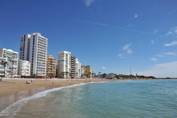 La plage de Vinaros 1