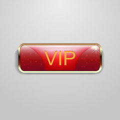 Red Vip Button