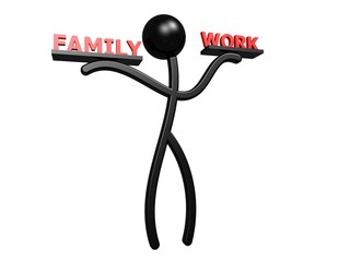 Man, work and family