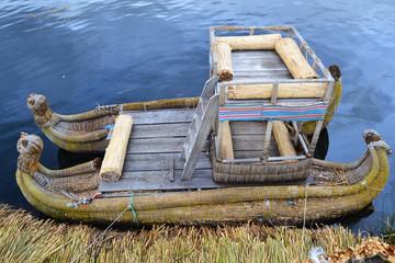 Titikaka Lake/Puno/Uros - Peru - boat
