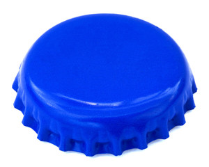 Blue Metal Cap