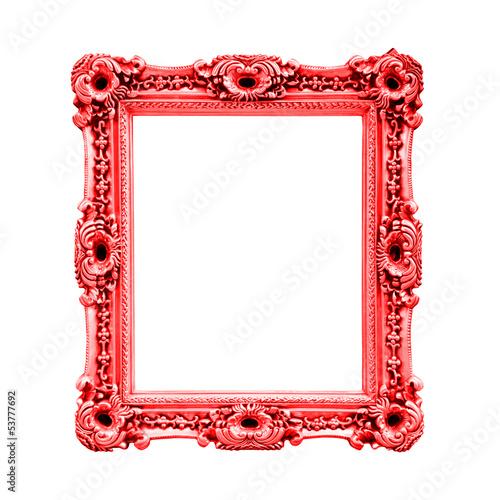 cadre baroque rectangulaire rouge photo libre de droits sur la banque d 39 images. Black Bedroom Furniture Sets. Home Design Ideas