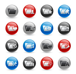 Folder Icons - Set 2 -- Gel Pro Series