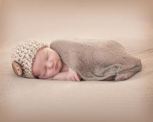 Newborn with Beany