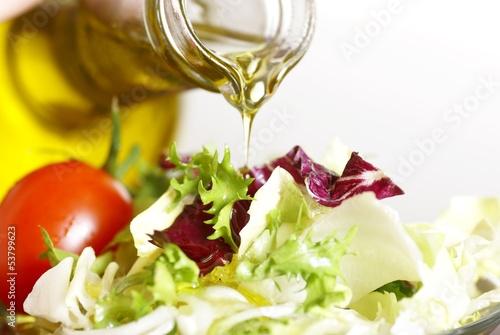 Салат витаминный с маслом растительным
