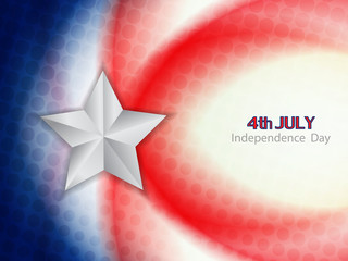 american flag theme background design for independence day.