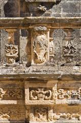 Column of St. Andrea. Presicce. Puglia. Italy.