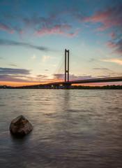 South bridge. Ukraine. Kiev.