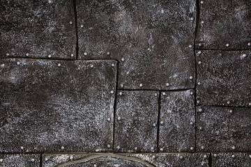 Dark metal pattern