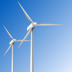 Wind generator frame