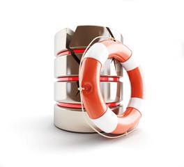 database is damaged, life buoy
