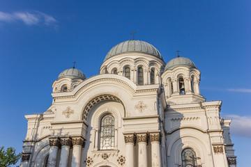 Top of the Kaunas St. Michael the Archangel church