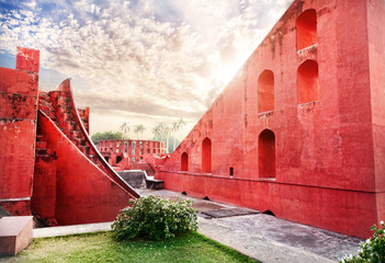 Foto op Textielframe Artistiek mon. Jantar Mantar observatory
