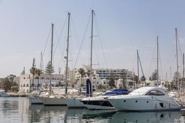 marina Port El Kantaoui, Tunisia