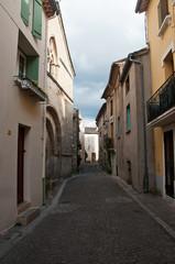 ruelle village de Villemagne dans l' Hérault