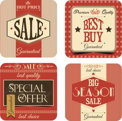 Sale vintage labels
