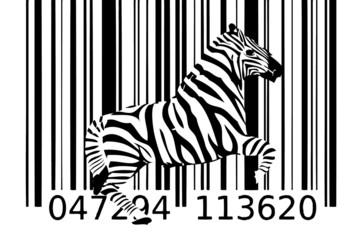zebra bar code idea