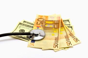 Health Money Concept
