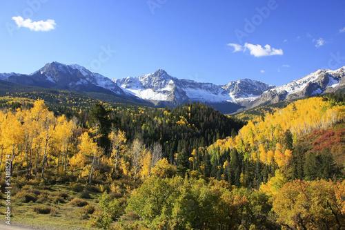 Wall mural Mount Sneffels range, Colorado