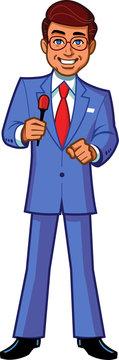 Game Show Host Announcer