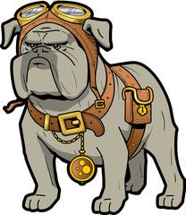 Steampunk Bulldog