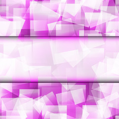 Abstract square seamless purple frame