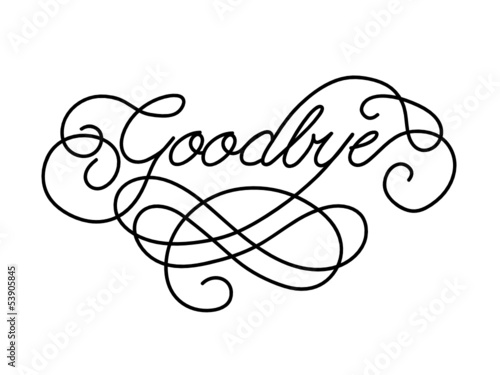 Goodbye Card Farewell Good Luck Template Retirement Day Stock